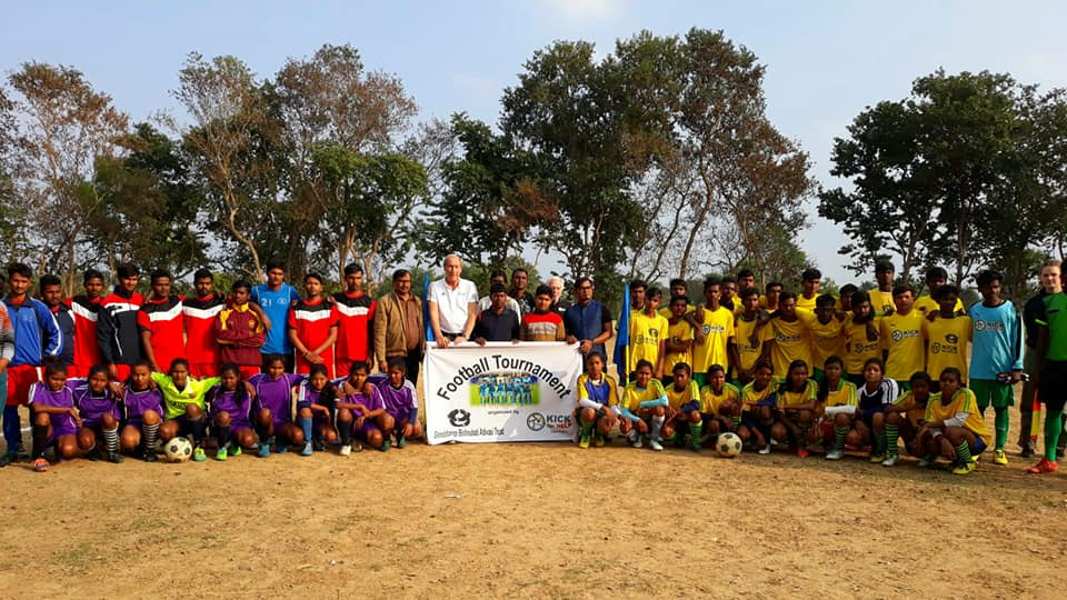 Kick for Help Turnier in West Bengalen