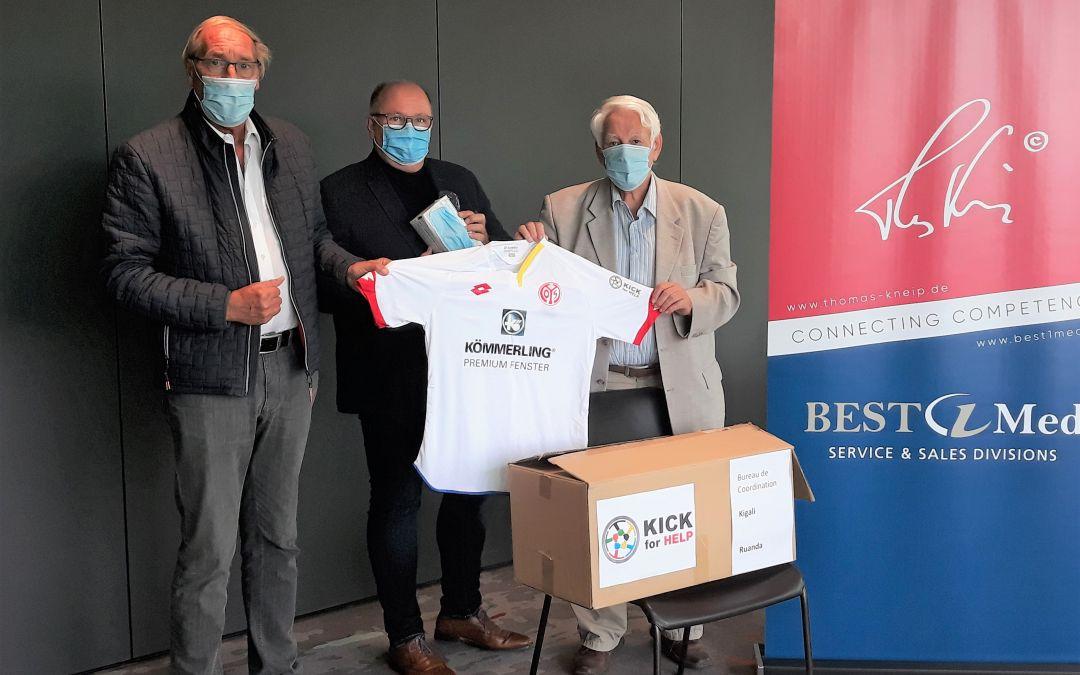 Mainz 05 und BEST1Med unterstützen Kick for Help in Ruanda