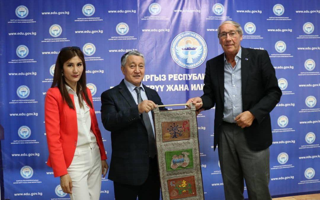 Kick for Help startet neues Projekt in Kirgistan