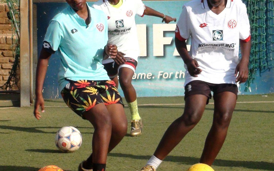 Frauenfußballprojekt in Kigali/Ruanda startet