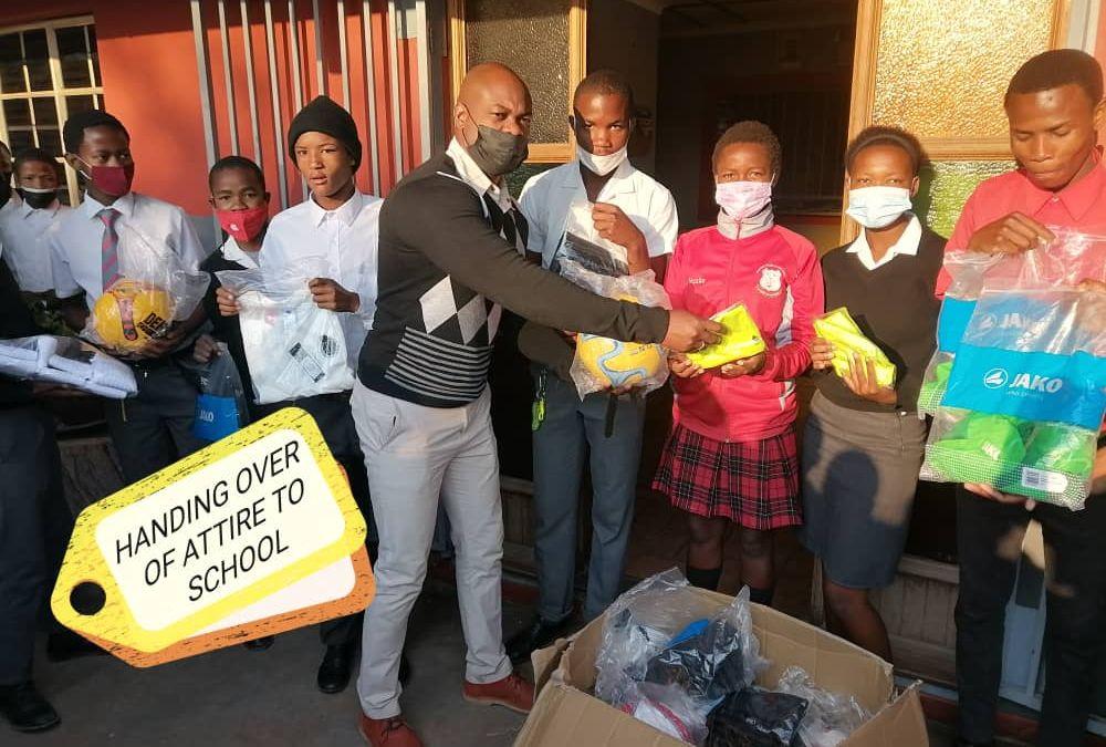 Kick for Help startet Fußball-Projekt in Namibia